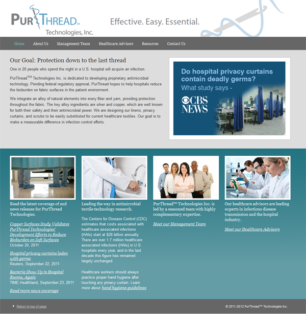 PurThread website
