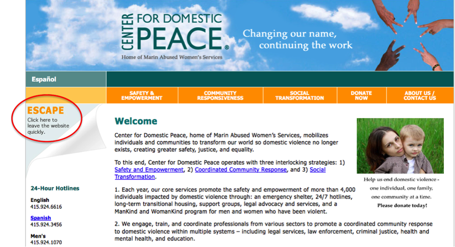 Center for Domestic Peace