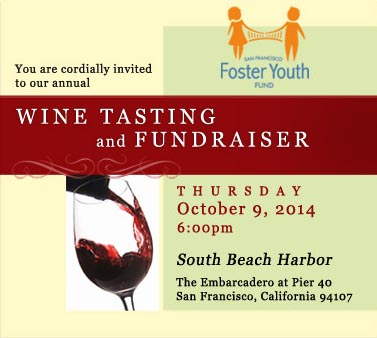 San Francisco Foster Youth Fund Wine Tasting and Fundraiser