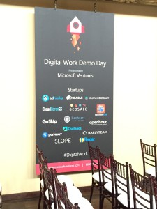 Microsoft Ventures Demo Day July 2015