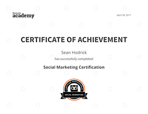 Hootsuite Certificate